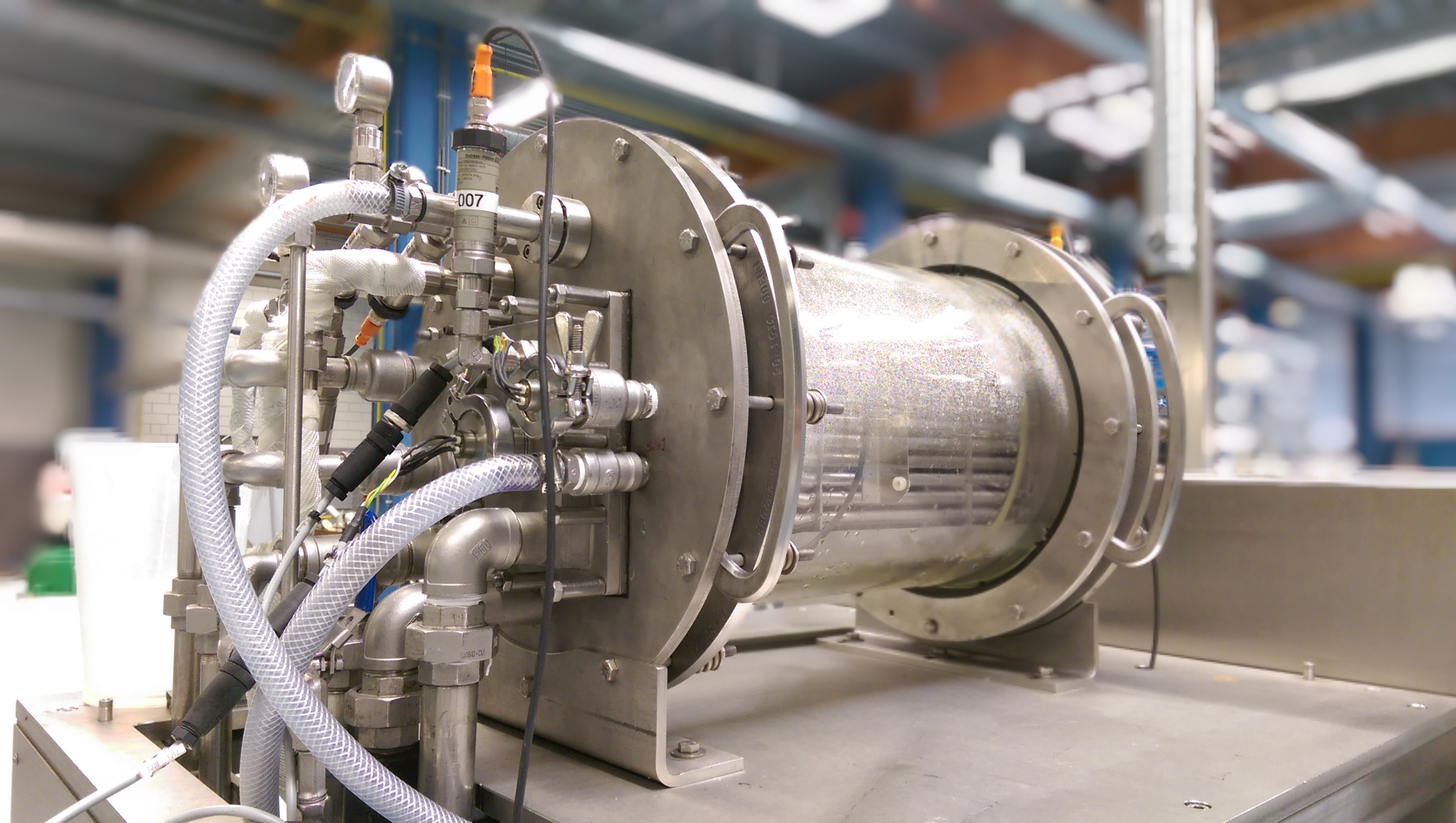 High Voltage Water Launches Pilot Plant for Electrospray