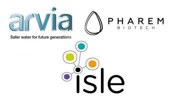 Isle Arvia Pharem logos blokje