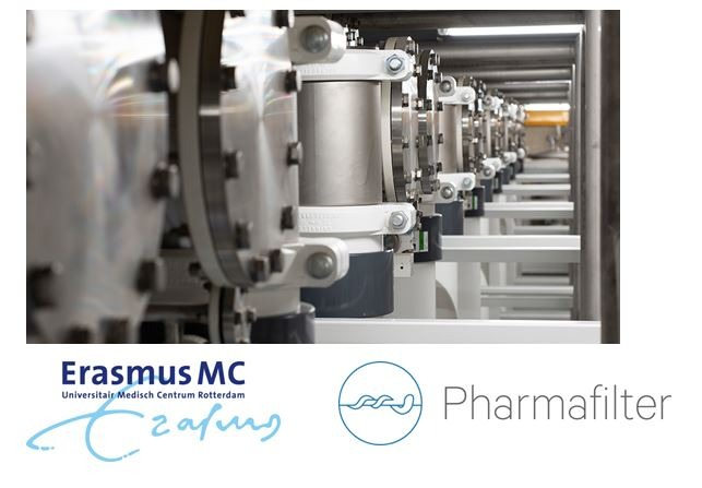 Pharmafilter in ErasmusMC